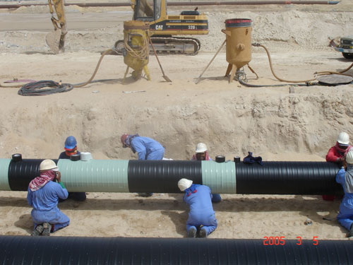 Pipeline Tubular Heat Shrink Sleeve