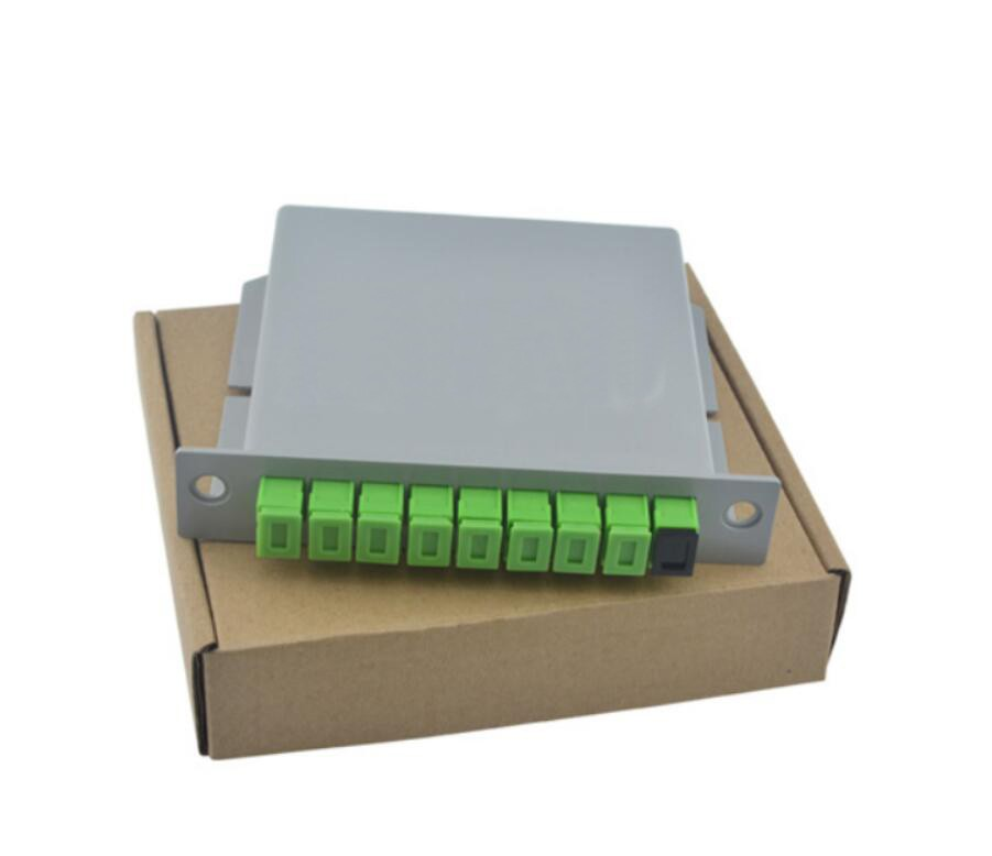 1X8 LGX PLC Splitter SC/APC packaging